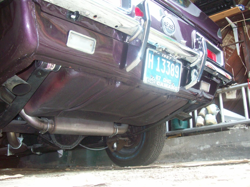 Pypes SGF70 2 12 Stainless Steel Exhaust